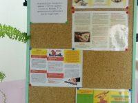 Информация о наличии в холлах и других доступных для родителей местах ящиков для обращений по предупреждению коррупции